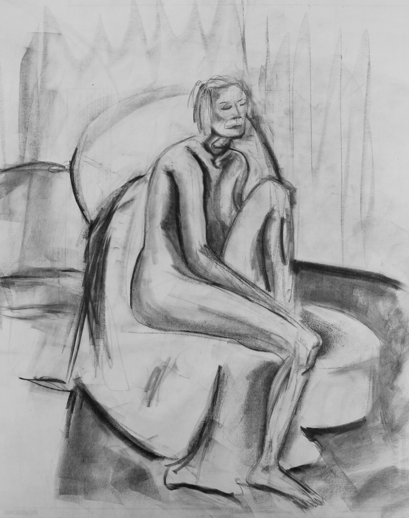 Seated Woman - 2013